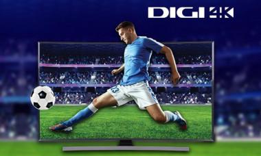 Digi 4K transmisie Ultra HD. Primele meciuri din Romania
