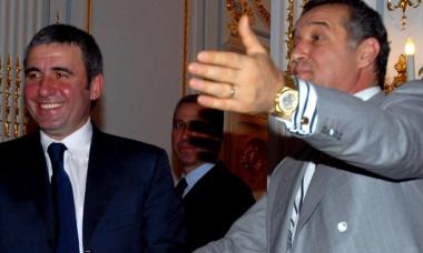 FOTBAL:CONFERINTA DE PRESA GHEORGHE HAGI,GEORGE BECALI SI INTALNIRE CU ECHIPA STEAUA BUCURESTI (25.07.2007)