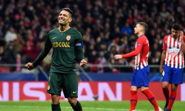 Radamel Falcao - Atletico Madrid - AS Monaco UEFA Champions League