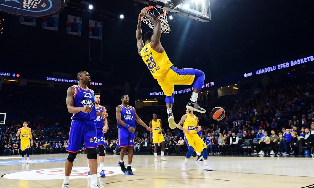 Anadolu - Maccabi baschet