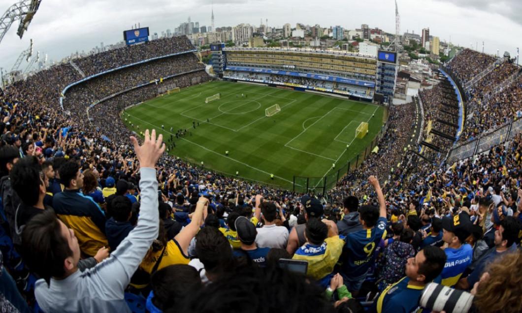 Boca Juniors Open Training Session