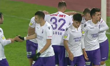 FC Arges gol cu Clinceni