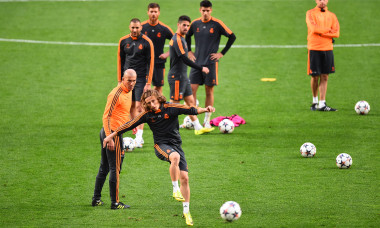Real Madrid Training - UEFA Champions League Final