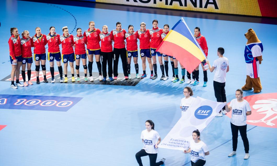 Romania handbal feminin CE 2018