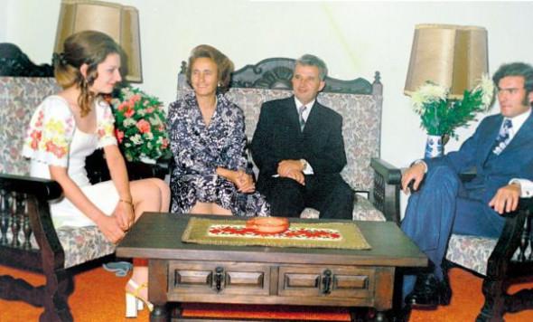 Zoia si Nicu, doi dintre copiii familiei Ceauescu