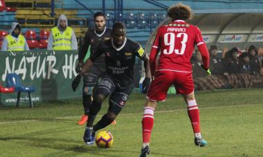FOTBAL:AFC HERMANNSTADT-DINAMO, LIGA 1 BETANO (8.12.2018)