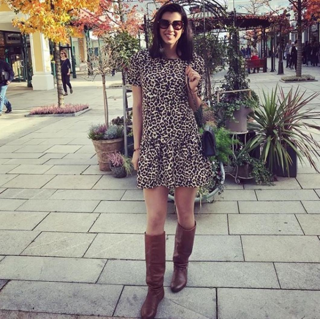 Denisa Dedu, mereu în ton cu moda