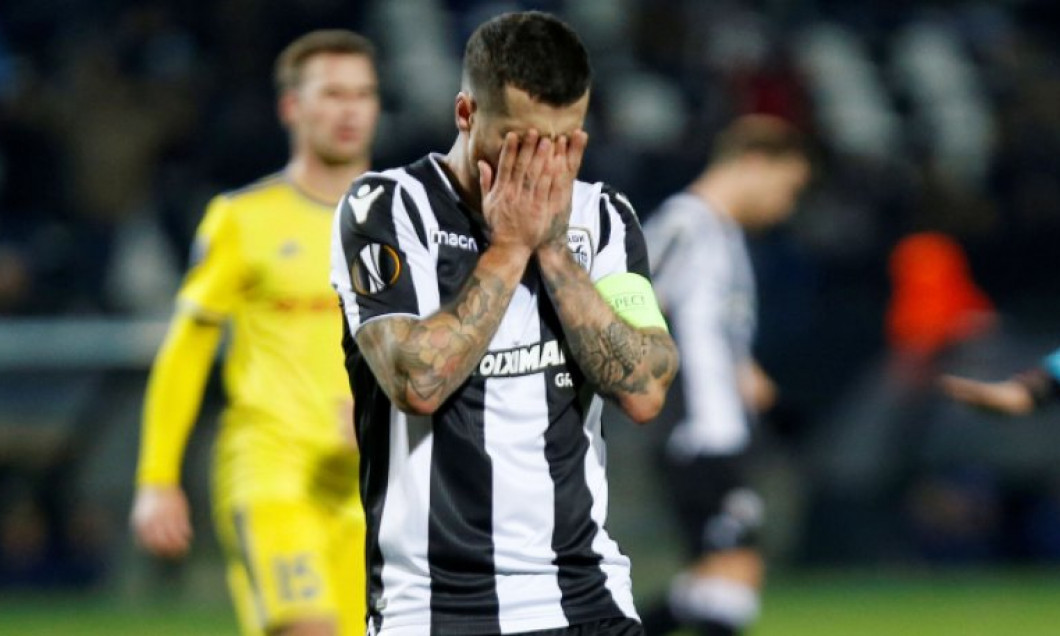 eliminare paok