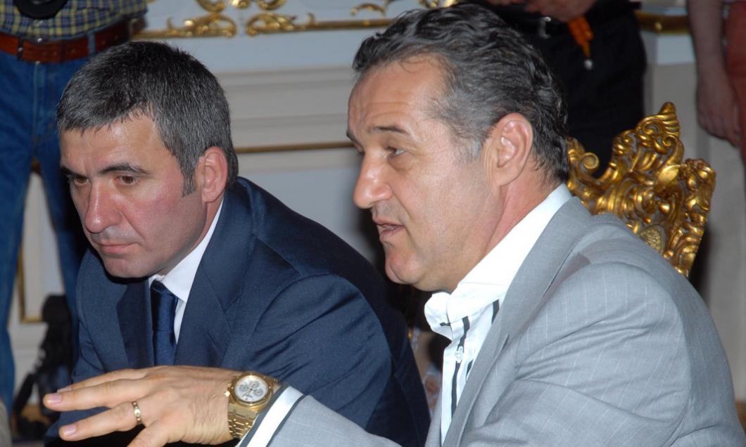Gică Hagi și Gigi Becali