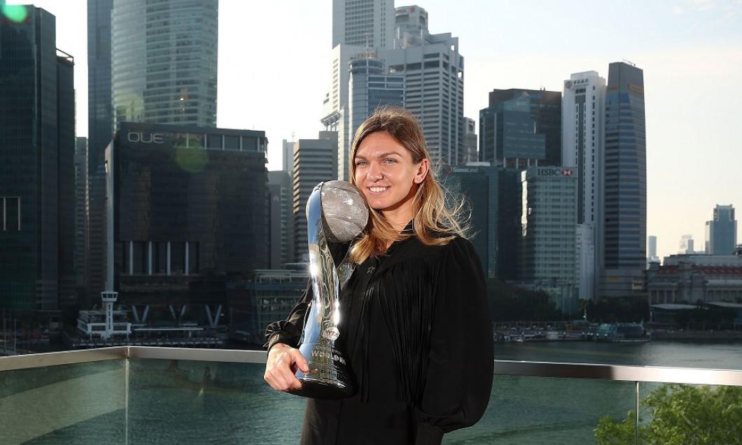 Simona Halep a încheiat anul 2018 pe primul loc în lume