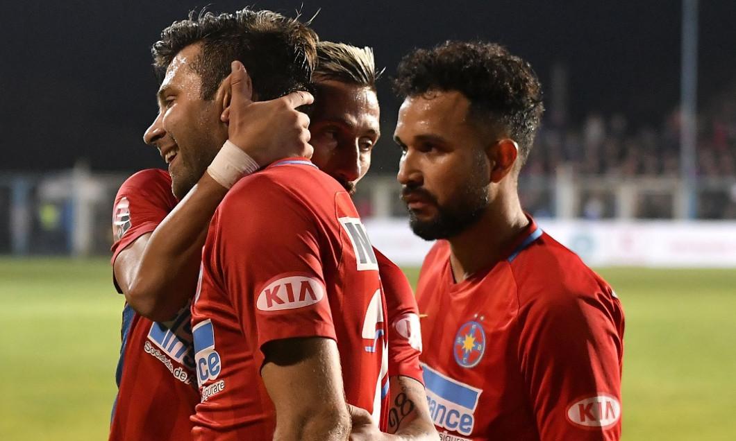 Zlatinski, Rusescu și Junior Morais n-au apucat să joace mult timp împreună la FCSB