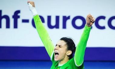 Denisa Dedu, exultă de bucurie după victoria României cu Spania, de la Euro 2018