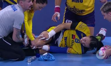 România - Ungaria. Cristina Neagu accidentată