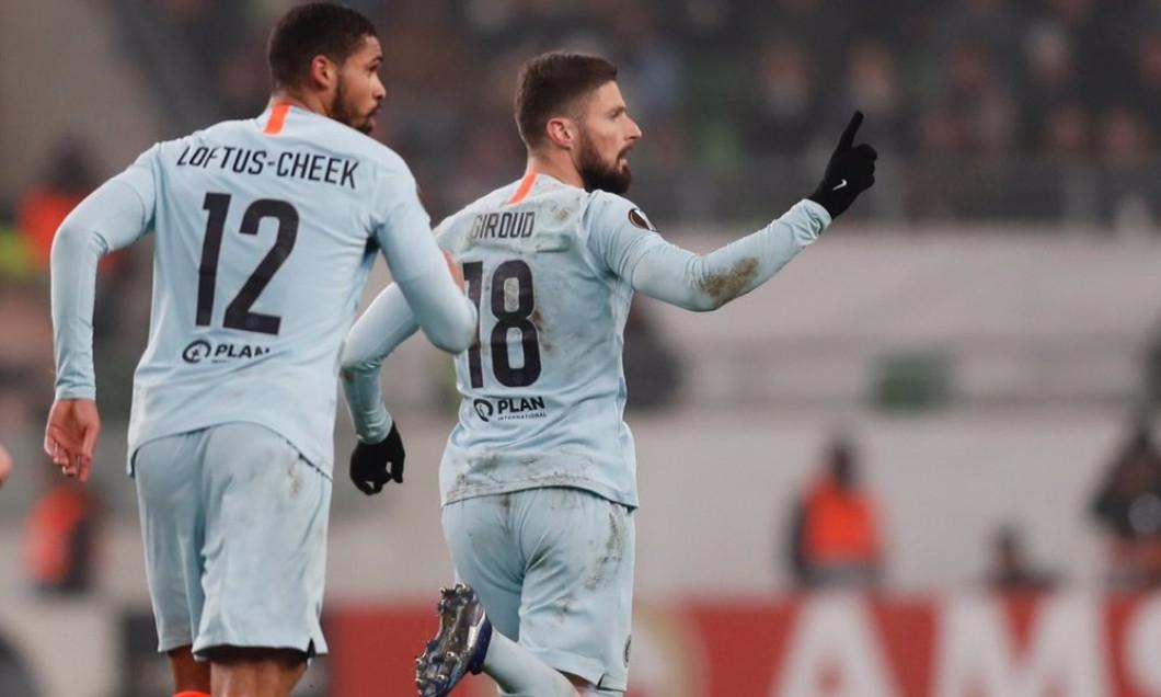 Giroud gol lovitura libera