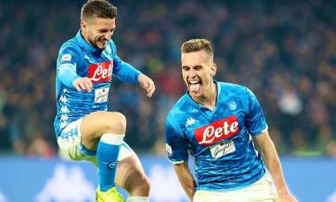 Milik gol Napoli