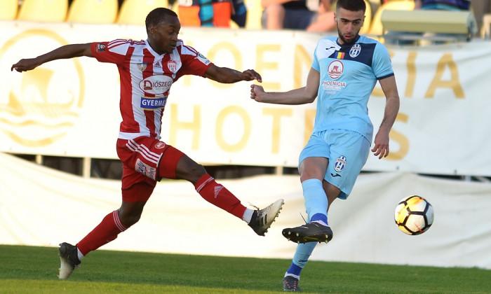 Ibrahima Tandia a marcat 8 goluri în prima parte a sezonului actual din Liga 1