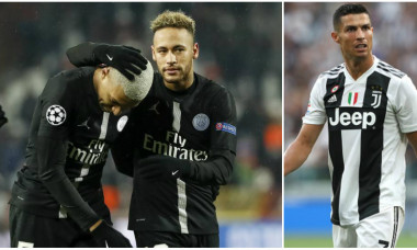 Neymar Mbappe si Ronaldo