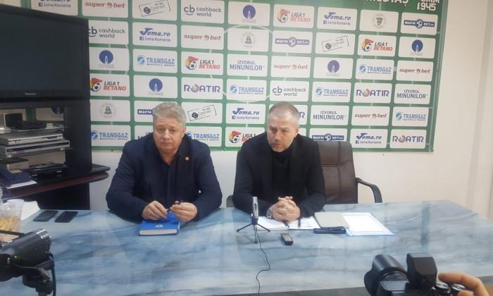 Edi Iordanescu si Ioan Marginean