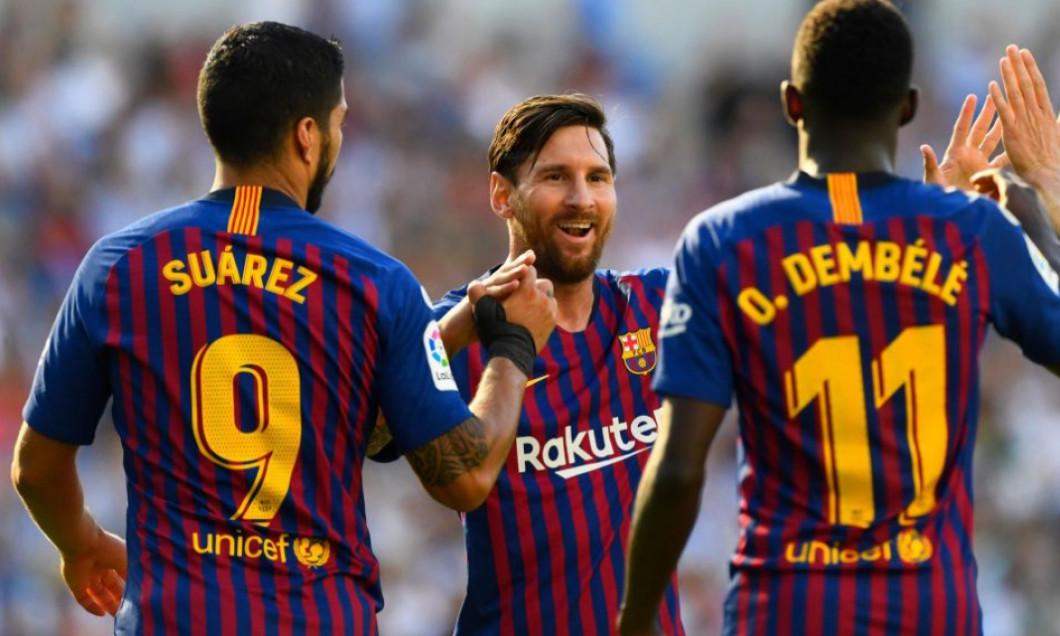 Suarez Messi si Dembele