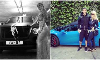 Wanda Nara si Icardi Bentley