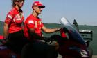 Schumacher pe scuter
