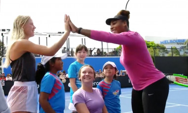 Serena Williams antrenament1