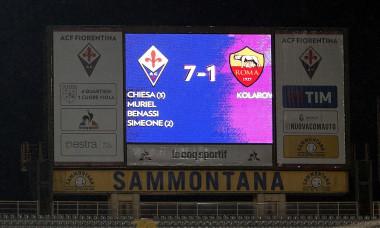 tabela fiorentina roma 7-1