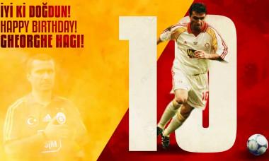 Hagi 54 de ani Galatasaray