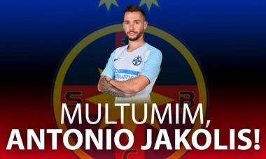 Antonio Jakolis despartire oficiala de FCSB