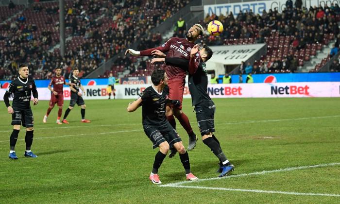 FOTBAL:CFR CLUJ-AFC HERMANNSTADT, LIGA 1 BETANO (2.02.2019)