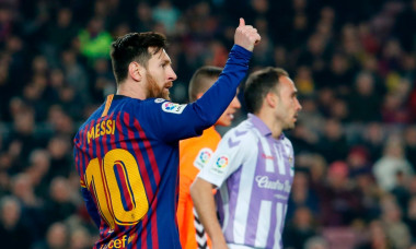 messi valladolid