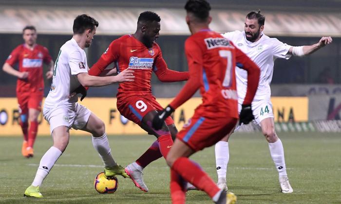 FOTBAL:CONCORDIA CHIAJNA-FCSB, LIGA 1 BETANO (18.02.2019)