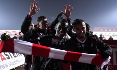 Dinamo, bucurie, Dan Nistor