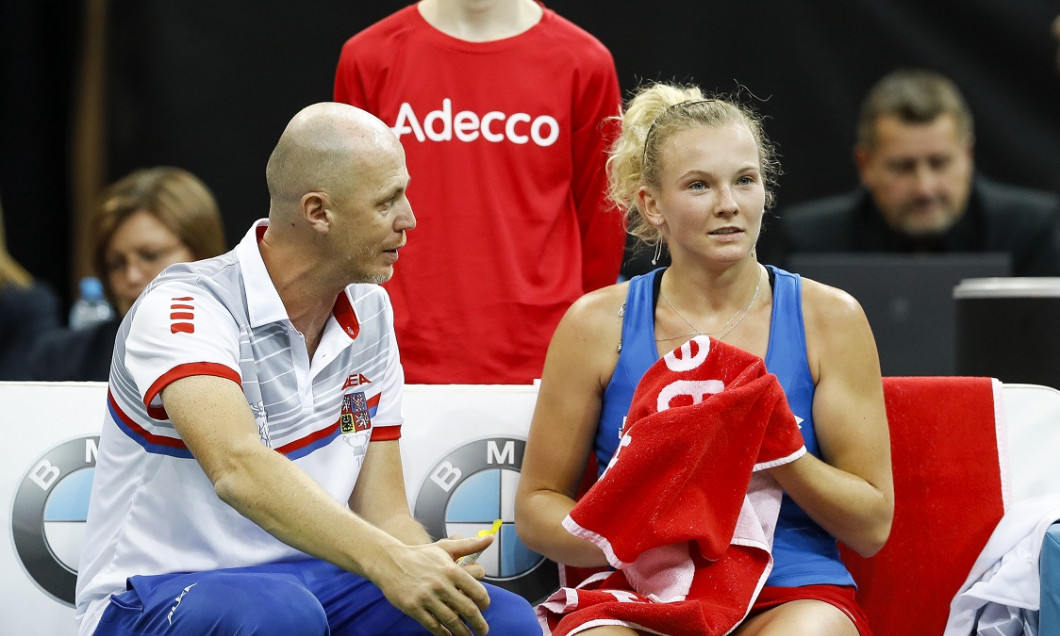Czech Republic v USA - Fed Cup Final: Day One