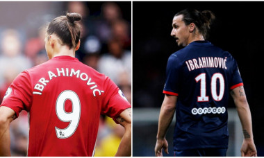 Zlatan Man United-PSG