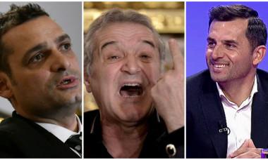 Gigi Becali, Nicolae Dica, Mihai Teja