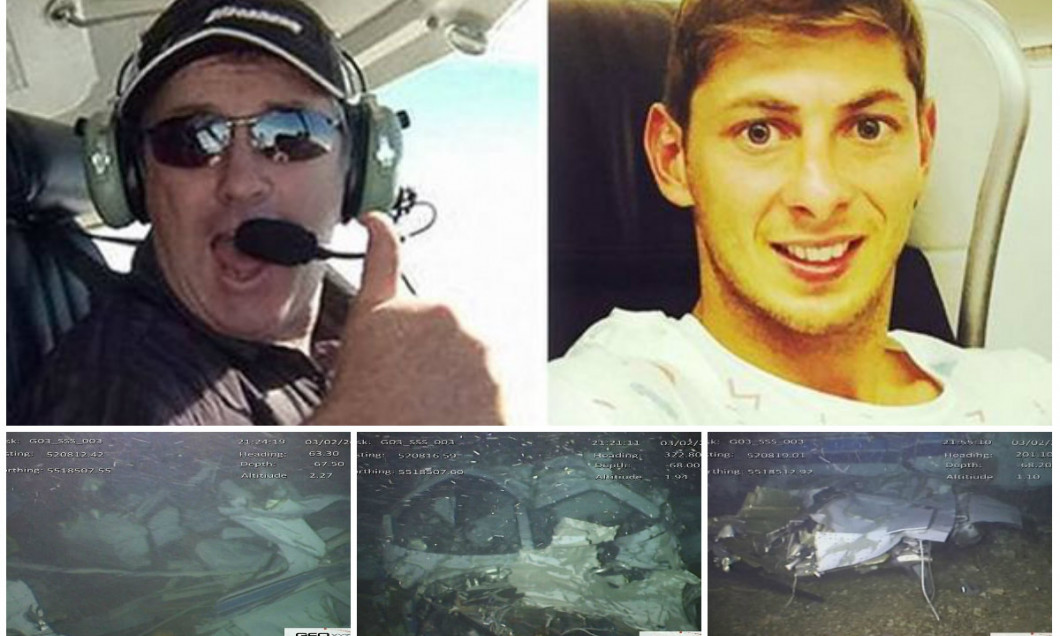 Emiliano Sala avion raport