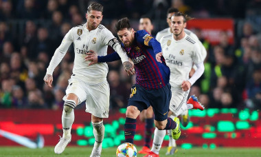 sergio ramos messi real madrid barcelona
