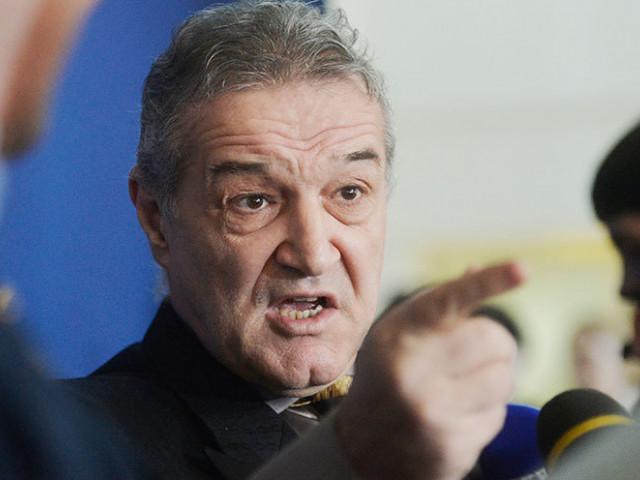 """""""Ce caută în arbitraj? Ăla îi rupe piciorul lui Tănase și el dă fault în atac!"""". Gigi Becali, atac la șefia CCA"""
