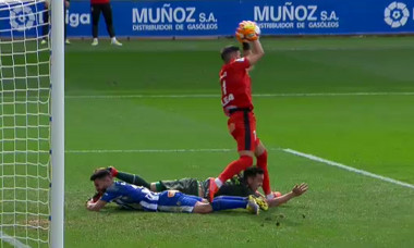 Accidentare Alaves - Eibar