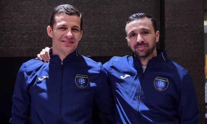 Constantin Galca si Lucian Sanmartean