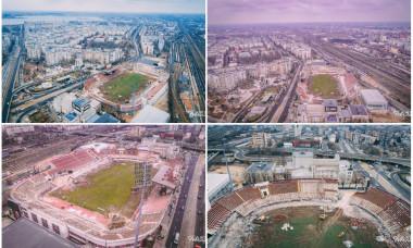 Stadion Giulesti demolare poze din drona