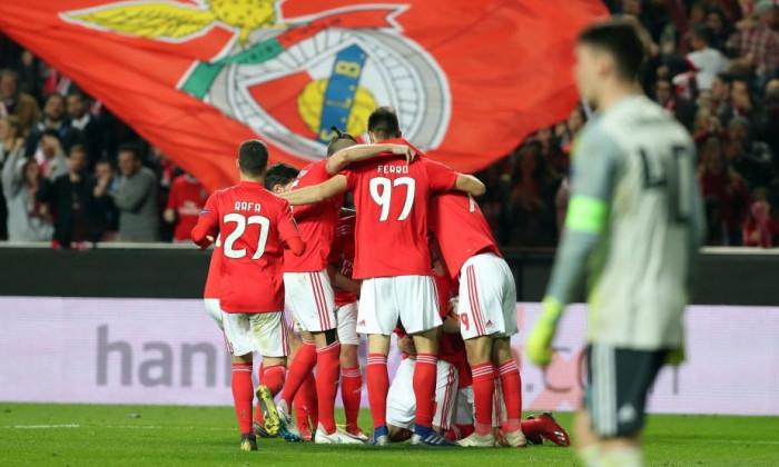 Grimaldo gol Benfica - Dinamo Zagreb