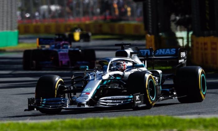 Hamilton F1, Australia