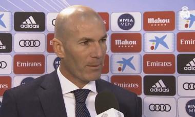 Zidane dupa victoria cu Celta