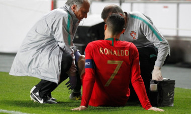 accidentare ronaldo