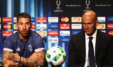 Zinedine Zidane și Sergio Ramos