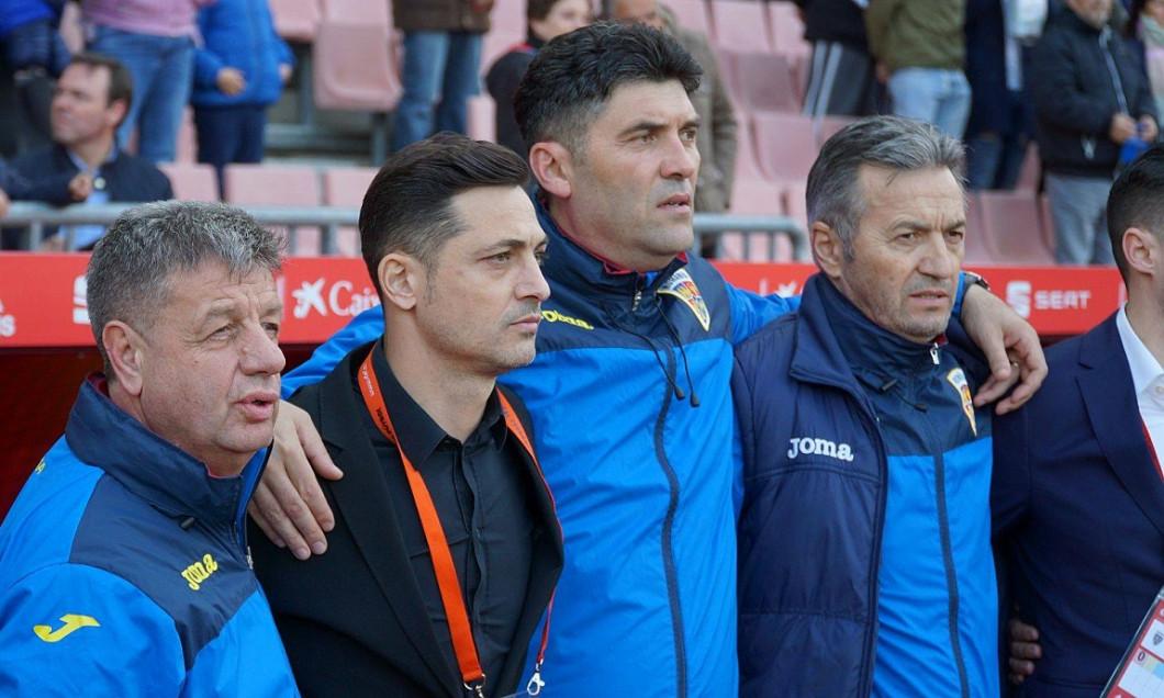 Mirel Radoi Romania amical Spania