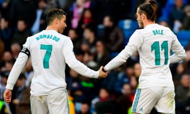 Ronaldo si Garteh Bale la Real Madrid