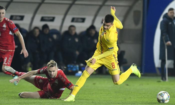 FOTBAL:ROMANIA-LITUANIA, CUPA NATIUNILOR (17.11.2018)